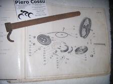 PERNO RUOTA ANTERIORE MOTO GUZZI 500 ALCE SUPERALCE 1940
