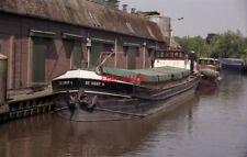 PHOTO  NETHERLANDS OUDEWATER 1992 BARGE DE HOOP 4