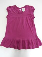 Girls NEW LOOK GENERATION Organic Cotton Magenta Tunic age 9yrs