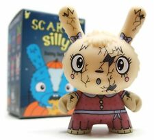 """Kidrobot The Bots' SCARED SILLY Dunny Series YOU CRACK ME UP 3"""" Vinyl Figure"""