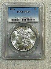 1883 Morgan Silver Dollar PCGS MS 64 (602)