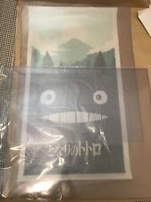 MY NEIGHBOR TOTORO VARIANT Olly Moss MONDO Movie Poster LTD ED AP 29/35