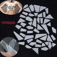 Jewelry Sewing Irregular Mirror  Sew on Beads Stones Crystal Rhinestones