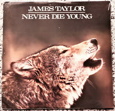 James Taylor - Never Die Young - Columbia 1988 - Sealed