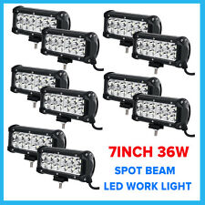 "10X 7"" 36W CREE LED Work Light Bar Spot/Flood Offroad Car Fog Truck Boat Lamp 6"""