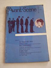 REVUE L ' AVANT - SCENE FEMINA THEATRE N° 220 DE 1960 EN BON ETAT .