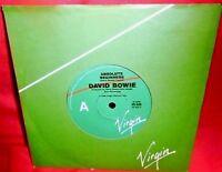 "DAVID BOWIE Absolute beginners 7"" 45rpm 1986 AUSTRALIA MINT-"