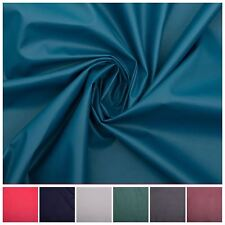 Faux Fashion Leather Clothing Leatherette Lycra Stretch Fabric PVC Material