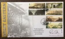 Benham 23.2.06 Brunel, PSS Great Eastern FDC signed RON COOK, Dr Who Black Adder