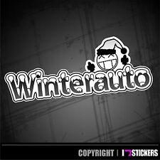 Winterauto Aufkleber Winter Sticker Shocker Autoaufkleber tuning  JDM WA017