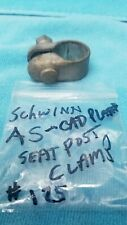 SCHWINN 1960s MIDDLEWEIGHT OTHER BICYCLE A S SEAT POST CLAMP USED CAD ZINC  #125