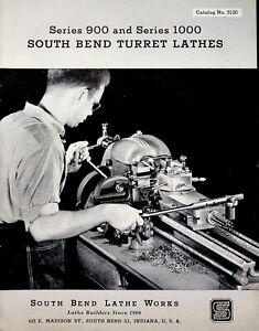 Vintage 1951 Original South Bend Lathe Catalog #5120 Precision Turret Lathes