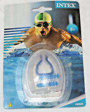 Intex #55609 Ear Plugs & Nose Clip Combo Set w carrying case swimming swim team