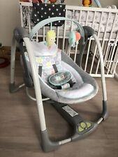 ingenuity elektrische babyschaukel