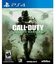 PS4 Call of Duty Modern Warfare Remastered USA - Playstation 4 PS4 - Brand New