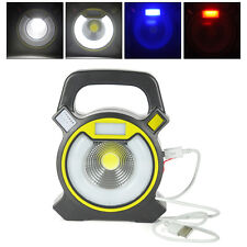 Outdoor Portable 15W USB Rechargeable LED Flood Spot Light Camping Work Lamp