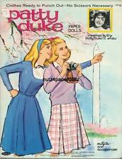 VINTAGE 1965 PATTY DUKE PAPER DOLL ~WHITMAN~ADORABLE LASER REPRO~ORIG SIZE UNCUT