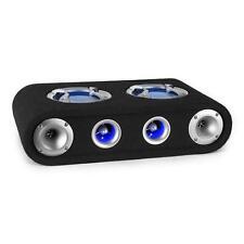 """CAR HIFI AUTO LAUTSPRECHER PASSIV 2X 16,5CM (6,5"""") 150W RMS LED LICHT EFFEKT NEU"""
