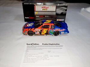 2002 Terry Labonte #5 Kellogg's Hendrick Motorsports 1:24 NASCAR Team Caliber