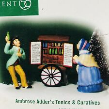 Department 56 2004 Ambrose Adder's Tonics & Curatives #56.57109 New In Box