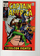 Captain America 118 💥 2nd appearance FALCON RED Skull Nice VF+ CGC this one!