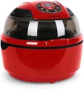 Klarstein VitAir Freidora de aire caliente sin aceite, Asar, Cocer Placa Halógen