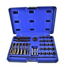 Glow Plug Metric Thread Repair Kit Cylinder Head 8mm 10mm 12mm 33pc Bergen