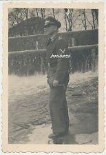 Foto Luftwaffe-Soldat-Seitengewehr 2.WK  (n666)
