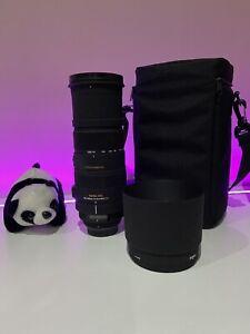 Sigma APO 150-500mm 1:5-6.3 with optical Stabiliser For Nikon F