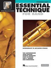 Essential Technique for Band Intermediate to Advanced Studies Trombone 000862628
