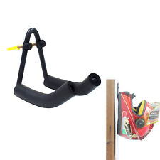 Helmet Hanger Helmet Hook Helmet Wall Rack Holder Storage Rack -V Style-Black