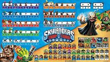 RARE Skylanders Trap Team Character Map Poster ONLY