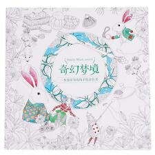 Creative Fantasy Dream Drawing Coloring Books Hand Painting For Adults Child LG