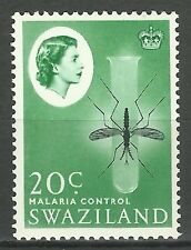 Swaziland Insectes Moustiques Paludism Against Malaria Mosquitoes Mucken ** 1962