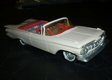 1959 Chevrolet IMPALA CONVERTIBLE 1/25 Friction Promotional Model AMT PROMO 59