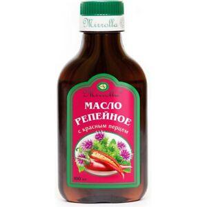 Mirrolla 100% Natural Burdock Oil with Pepper Hair Growth Anti Hair Loss 100ml
