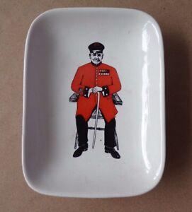 Michael Illingworth Marston Magna Ceramic Trinket Dish Chelsea Pensioner Design