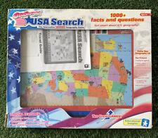 GeoSafari USA Search Talking Interactive Geography Game El-8780