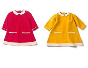 Little Green Radicals Organic cord Tunic Dress 0 3 6 9 12 months 1 - 2 years