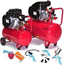 Werkstattkompressor Druckluftkompressor 1100W 1,5PS Kompressor Druckluft Zubehör