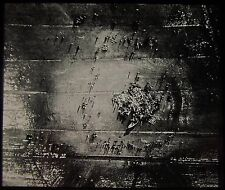 Glass Magic Lantern Slide AERIAL PHOTO OF DESTROYED GERMAN ZEPPELIN WW1 PHOTO