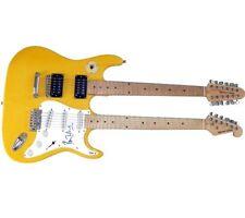 Ron Wood Autographed Signed Doubleneck Guitar UACC RD PSA AFTAL