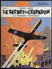 BLAKE ET MORTIMER Le Secret de L'Espadon Tome 1 Réédition 1974 Bon état
