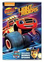 Blaze And The Monster Machines: Light Riders! [DVD][Region 2]