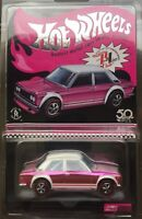 1/64 2018 Hot Wheels 18th Nationals Convention '71 Datsun 510 RLC pink party car