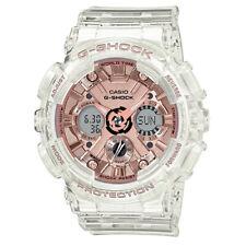 Casio G-Shock Transparent Rose Gold Ladies Watch GMA-S120SR-7A