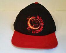 Marlboro Lizard Rock Baseball Snapback Cap Trucker Hat Black Red Cotton