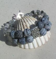 Handmade Tibetan Silver Agate Fine Jewellery