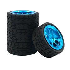 1/18 RC Tire Tyre and Wheel Rim Set 4Pcs for WLtoys A949 A959 A969 A979 K929