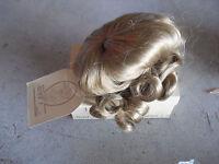 Vintage New Doll Wig Wee 3 Maryanne 12 - 13 1/2 E6 Blonde NIB
